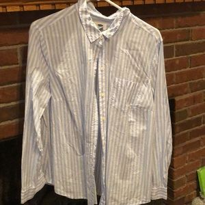 Vintage old navy striped blouse